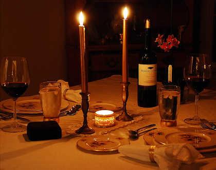 C mo preparar una noche rom ntica en casa como conquistarlo - Detalles para cena romantica ...